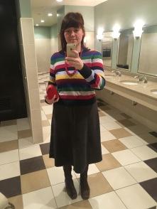 Obligatory bathroom selfie.