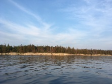 This is Great Island. This is the land, and the water that held me during my stay.